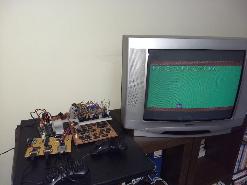Construindo um console de videogame Homebrew Console2