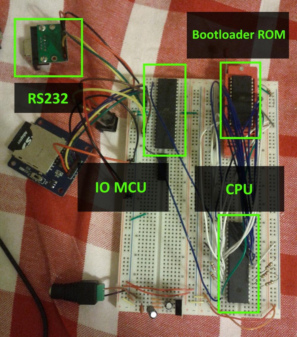 Construindo um console de videogame Homebrew CpuBoard1