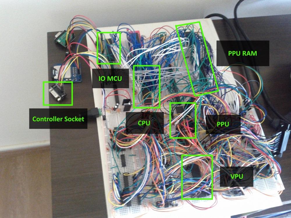 Construindo um console de videogame Homebrew JointBoard1
