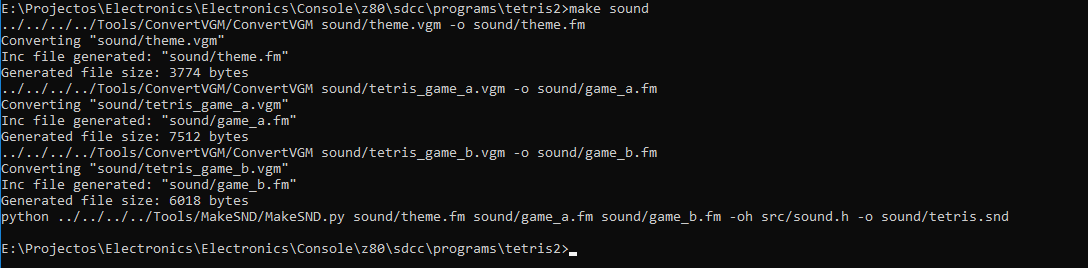 Construindo um console de videogame Homebrew SoundCmd